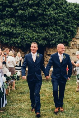 An outdoor ceremony and tipi wedding in Derbyshire