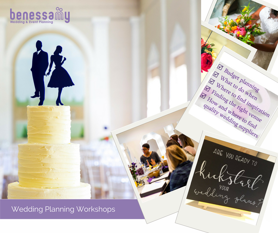 Tickets are now on sale for the first of our wedding planning workshops for 2017.