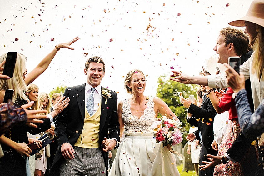 A very Happy First Anniversary to our clients Fergus and Lydia.