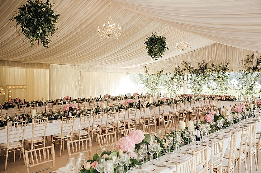 4 Show Stopping Wedding Flower Ideas - Hanging Flower Balls