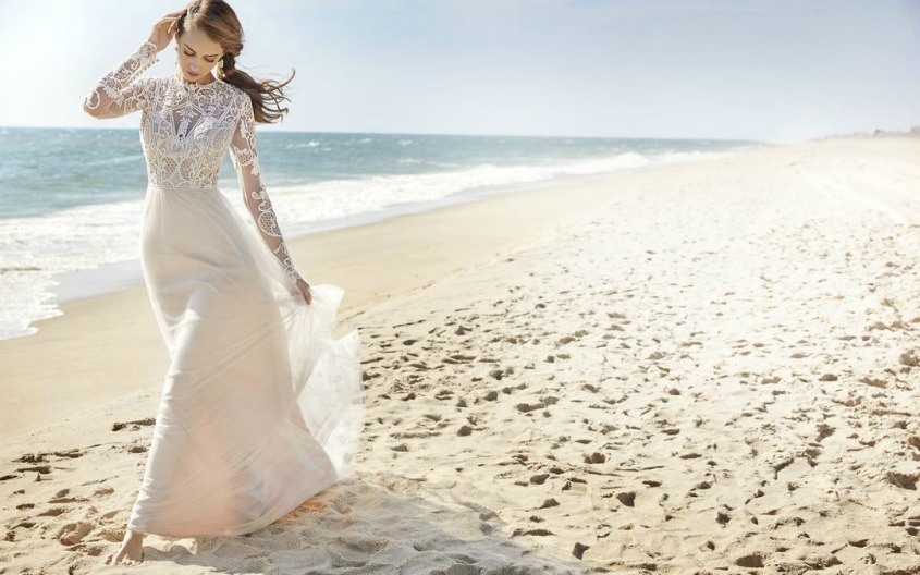 Jetting off ahead of your destination wedding should be a time of overwhelming excitement and joy. Arriving at the other end to discover your dream dress has become a crumpled heap of satin, or even lost luggage, will kill your travel buzz in no time at all.