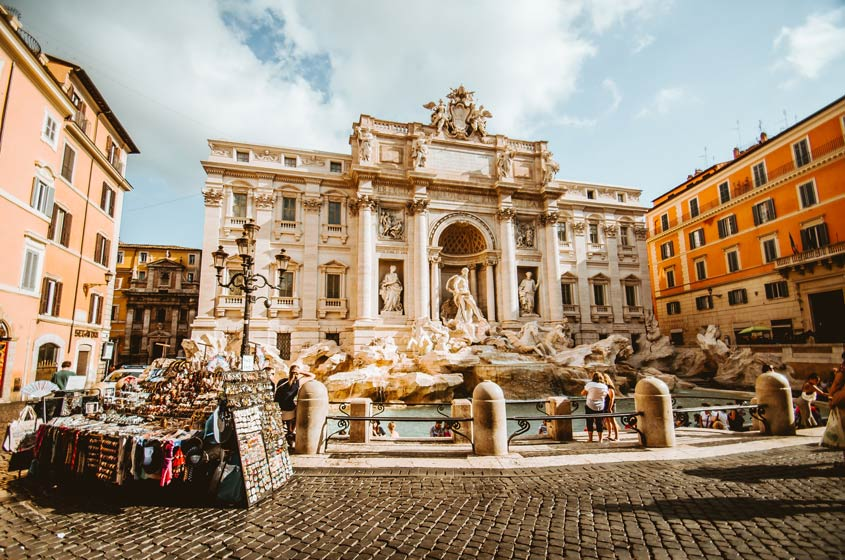 Places to Propose in Europe - Rome - Trevi Fountain - Christopher Czermak