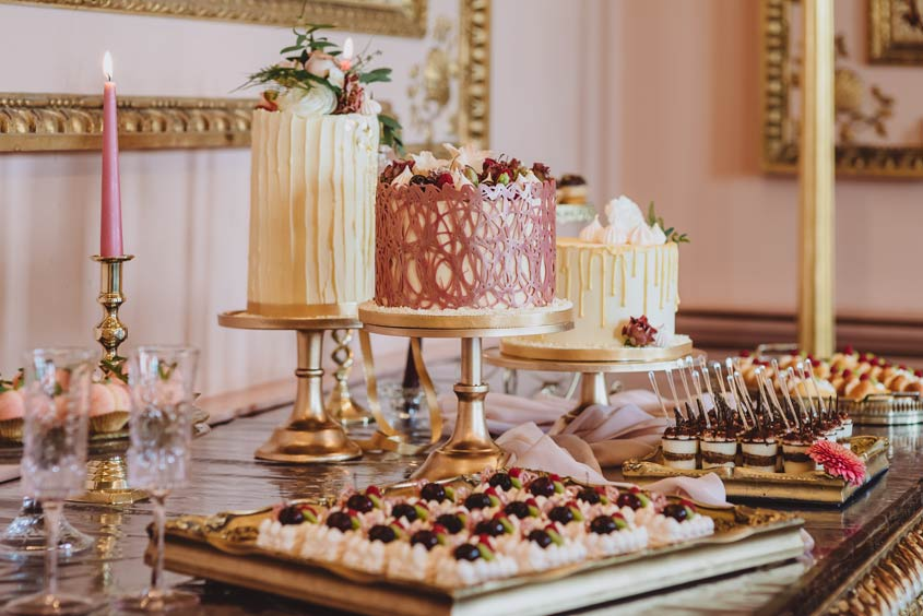 Looking for a luxurious alternative to a traditional wedding cake?