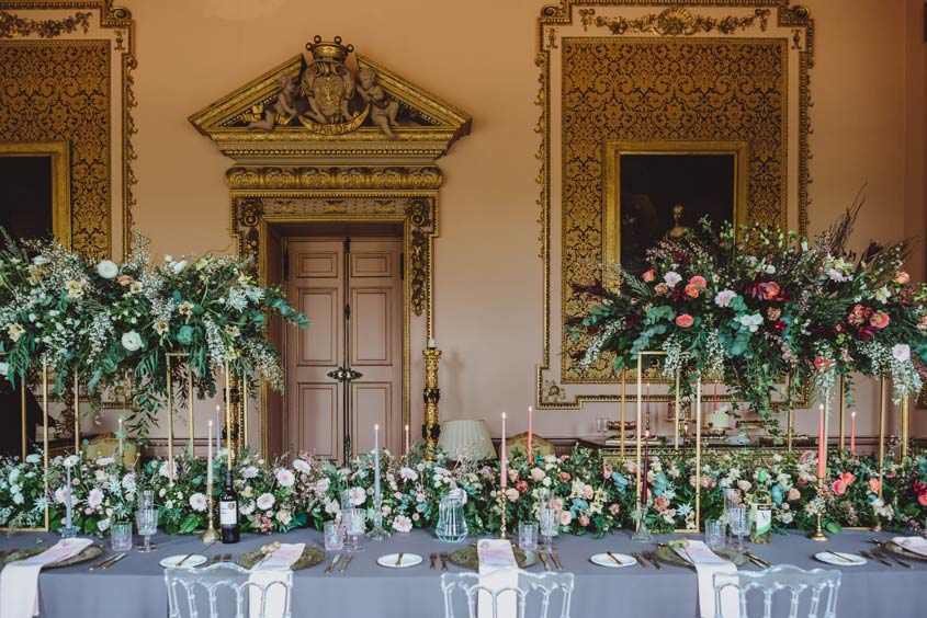 Stanford Hall Wedding Flowers - Sassy Blooms