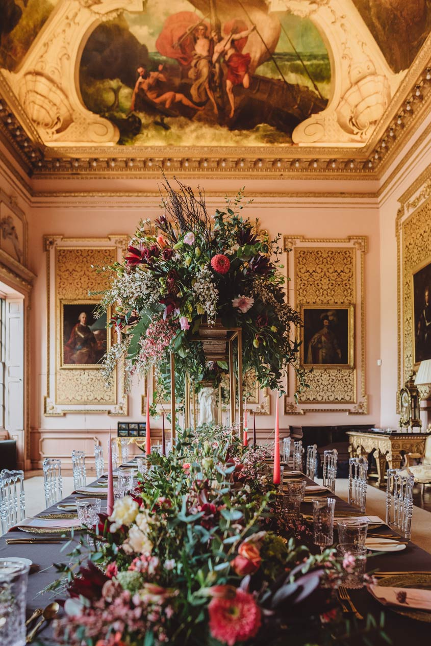 Leicestershire luxury wedding venue - Stanford Hall - Captured by Megan Wilson