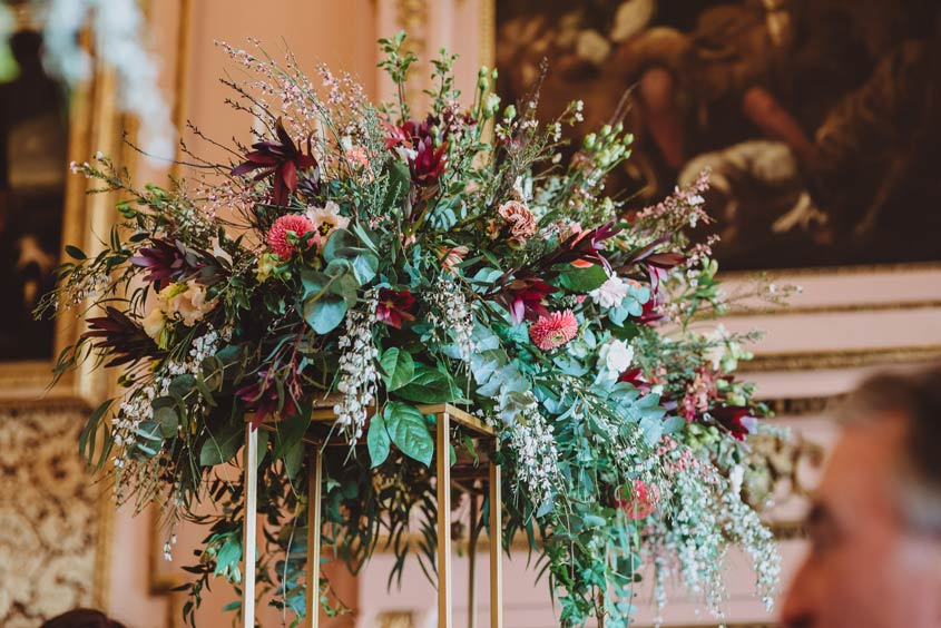 Where can you find modern stylish designs for your wedding day, bursting with flowers and relaxed foliage? I have just the person to recommend to you!