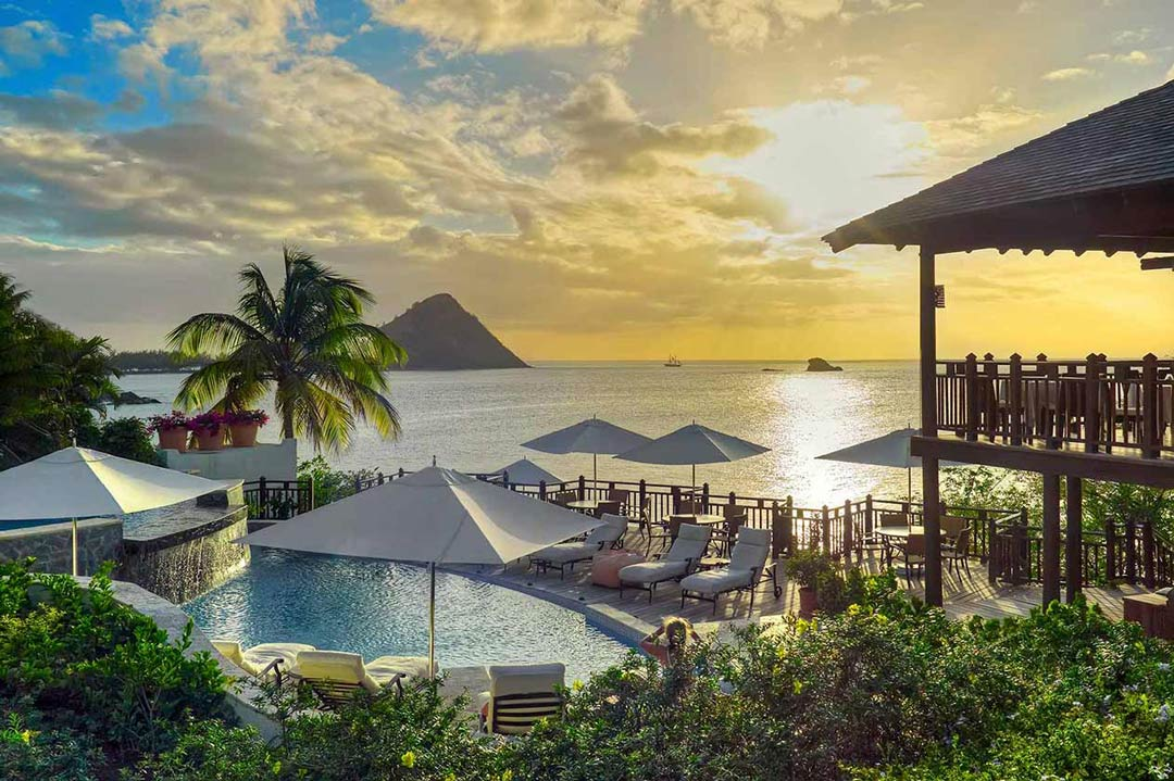 Luxury resort in Saint Lucia - Cap Mason