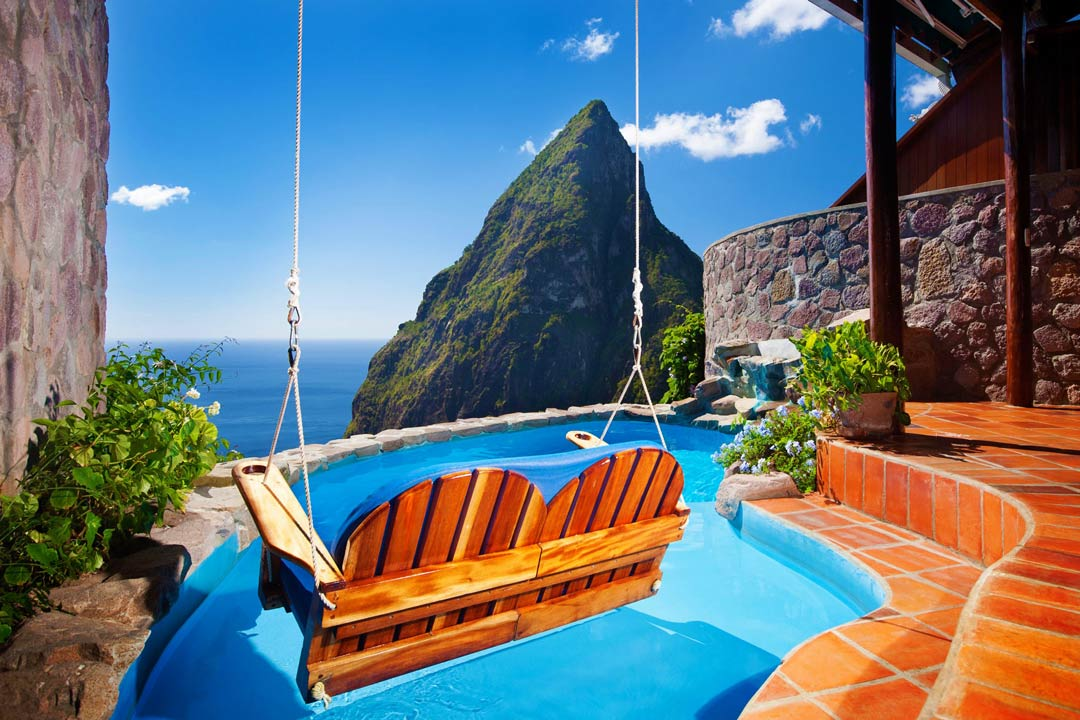 Pitons view wedding - Ladera Resort - Saint Lucia