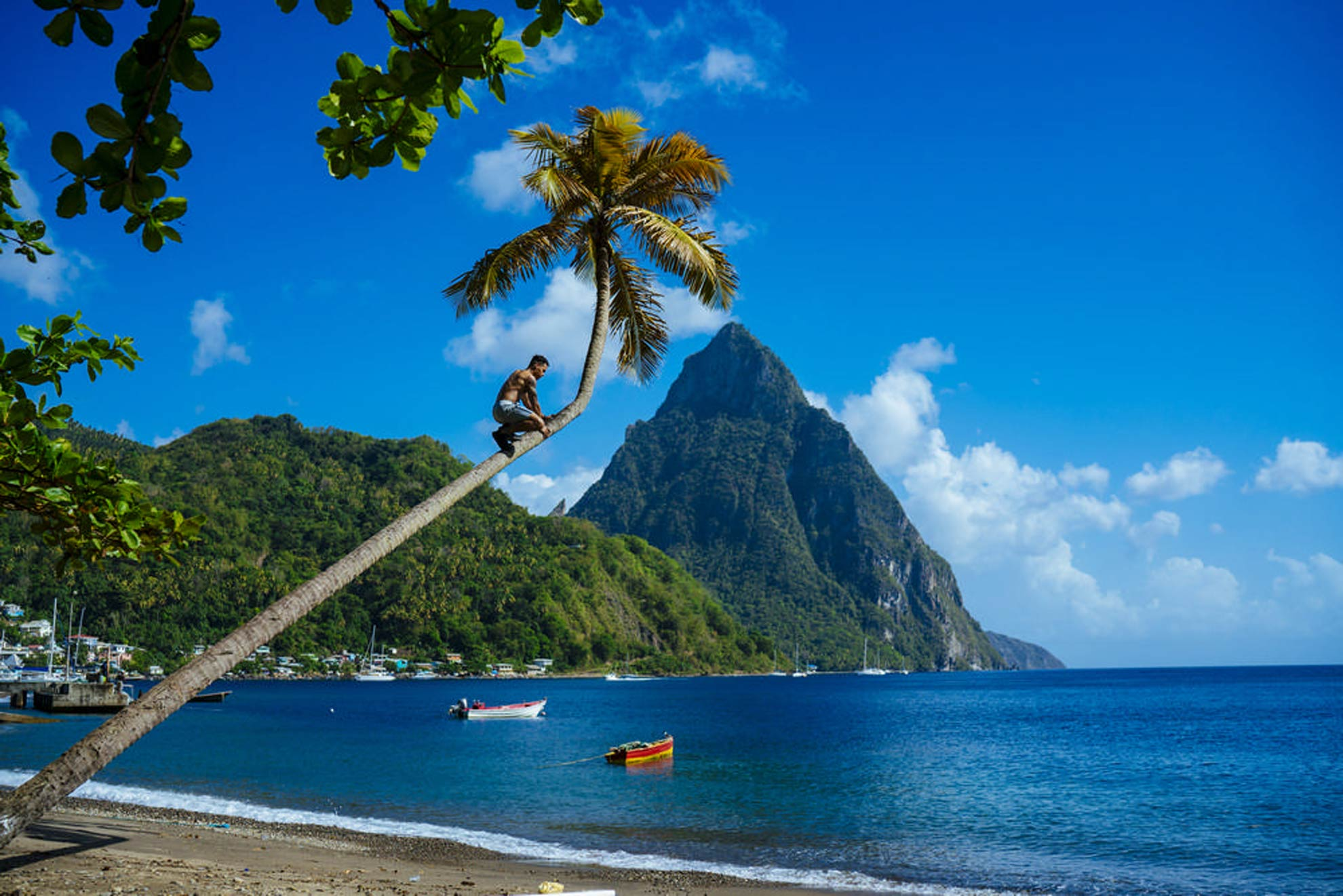 Pitons wedding - Saint Lucia