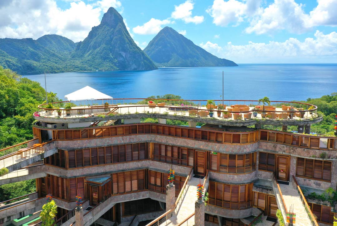 Luxury resort in Saint Lucia - Jade Mountain