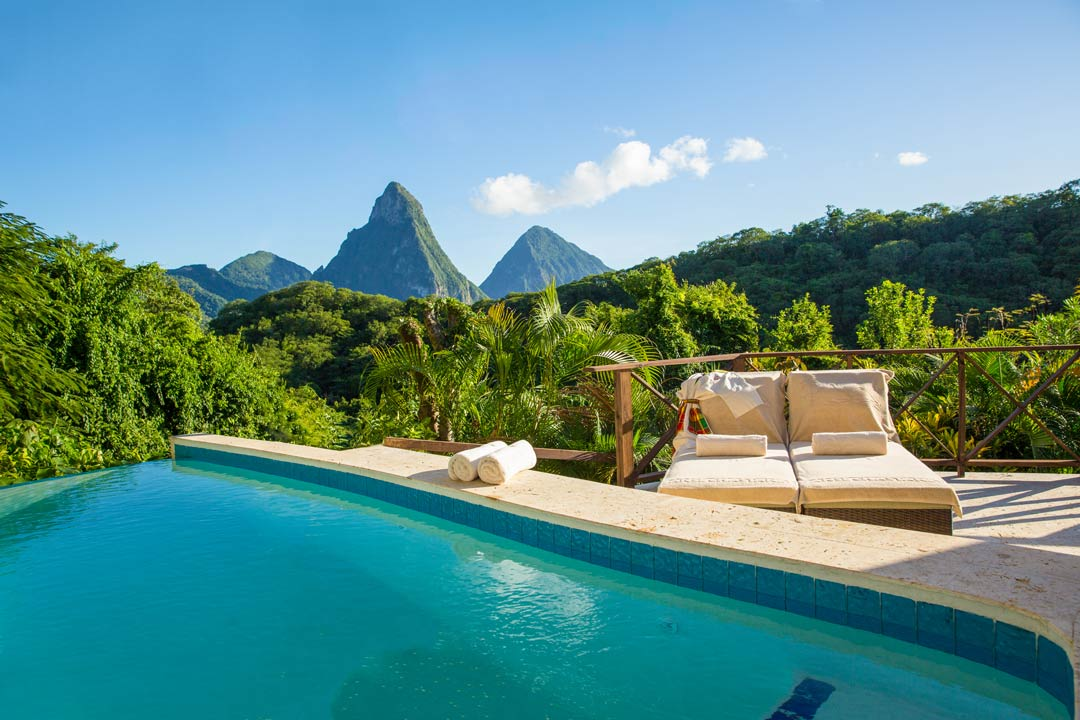 Luxury resort in Saint Lucia - Anse Chastanet
