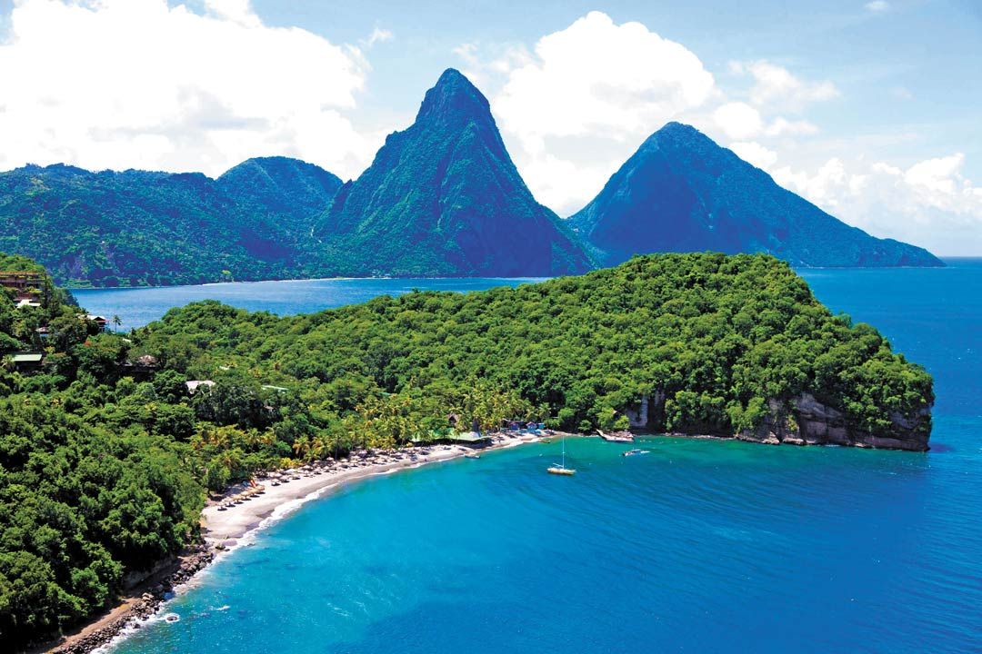 romantic luxury resorts in the Caribbean - Anse Chastanet