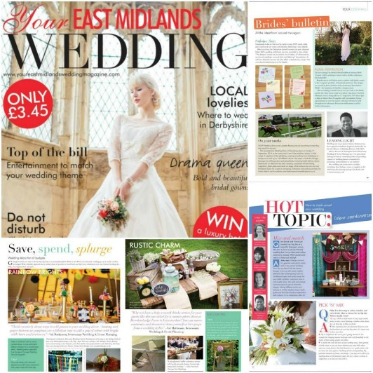 We've been featured in the latest edition of this fabulous wedding publication.
